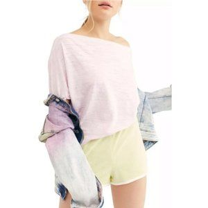 Free People Astrid Tees in Orchid Light. XS, S, L